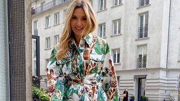 Joanna Koroniewska w modnej stylizacji