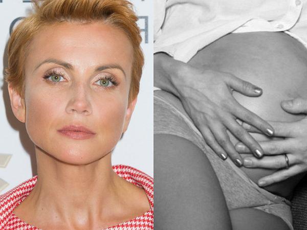 """Zielińska podzieliła się intymnym ujęciem w ciąży. Po raz pierwszy wyznała: """"Nie spałam. Płakałam, czekając na dobre wieści"""""""