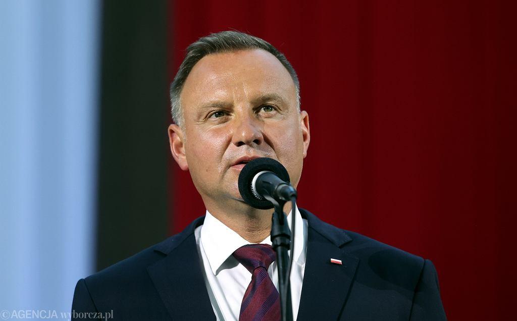 Prezydent Andrzej Duda, 2021
