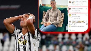 Cristiano Ronaldo skomentował wyniki kolejnych testów. 'PCR to g*wno prawda'