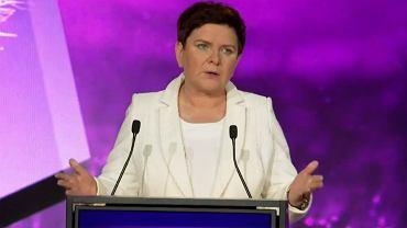 Beata Szydło podczas konwencji Porozumienia