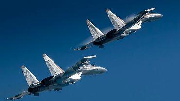 Rosyjski myśliwiec Su-35S