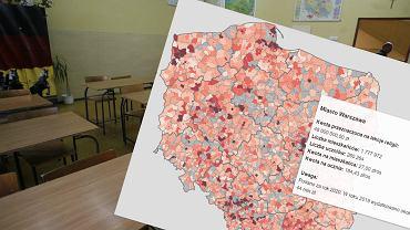 Mapa kosztów religii w szkołach