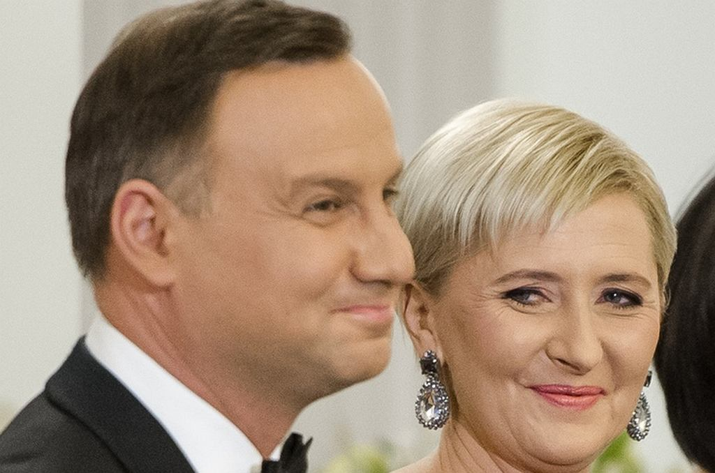 Andrzej i Agata Duda na Spotkaniu Noworocznym