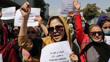 Afganistan - protest kobiet