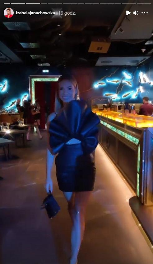 Izabela Janachowska świętowała urodziny w klubie