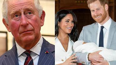 książę Karol, Megan Markle, książę Harry