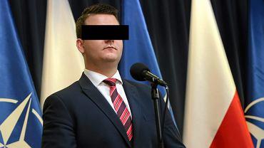 Były rzecznik Ministerstwa Obrony Narodowej Bartłomiej M.