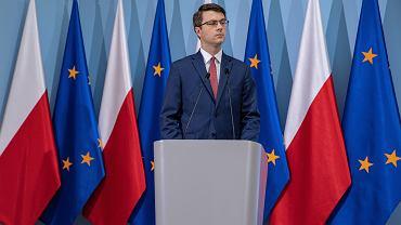 Rzecznik rządu Piotr Müller