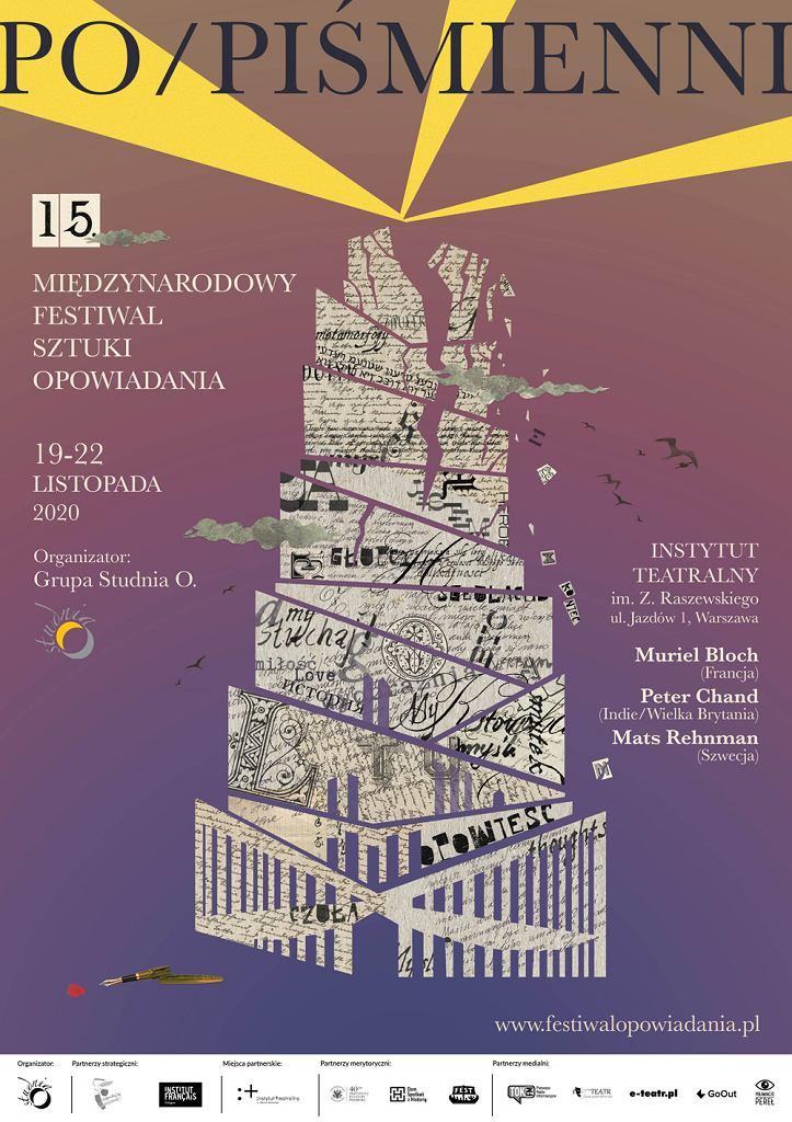 15. Międzynarodowy Festiwal Sztuki Opowiadania 'Po/piśmienni'