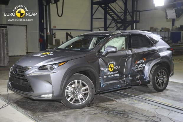 Lexus NX (fot. Euro NCAP)