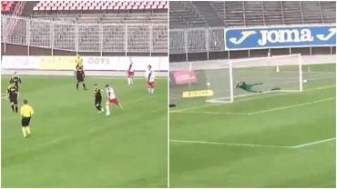 Antonio Dominguez zdobył pięknego gola w meczu z GKS-em Jastrzębie