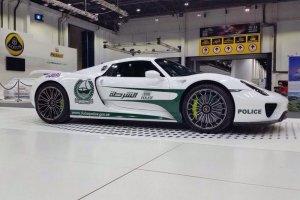 Nowa zabawka drogówki z Dubaju