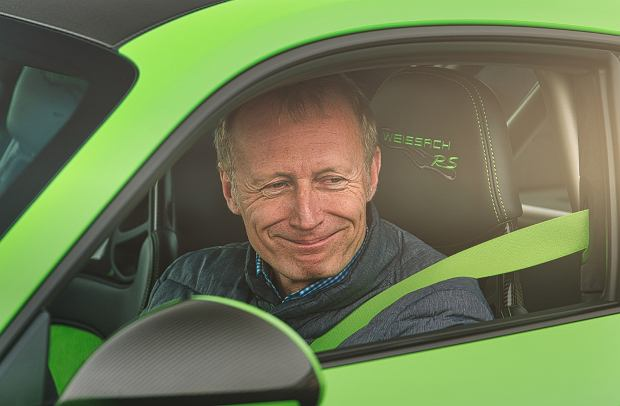 Andreas Preuninger, szef Porsche GT