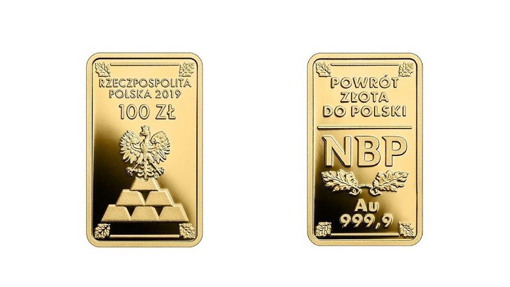 Monety w kształcie sztabek