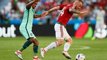Euro 2016. Węgry - Portugalia 3:3. Gergo Lovrencsics z Lecha Poznań