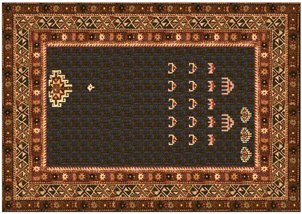 Janek Simon 'Carpet Invaders', 2002 / materiały prasowe