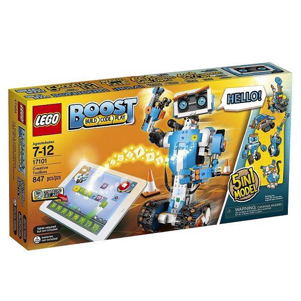 Nauka programowania z LEGO BOOST