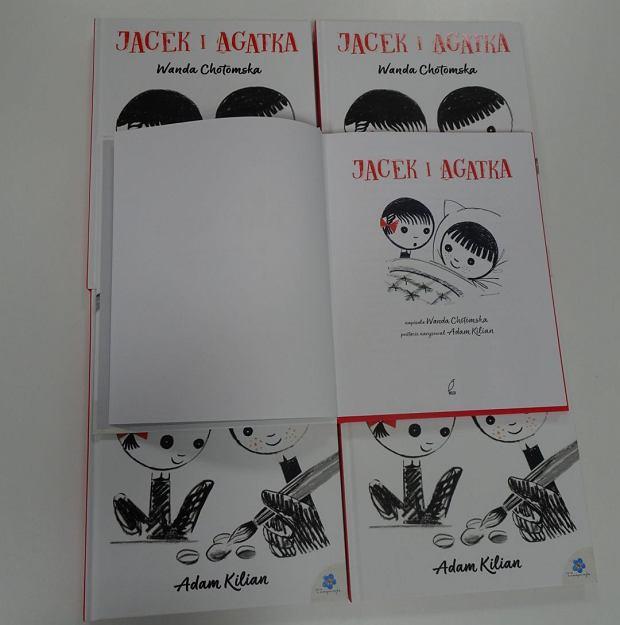 Jacek i Agatka, Wanda Chotomska, Adam Kilian/Wydawnictwo Wilga