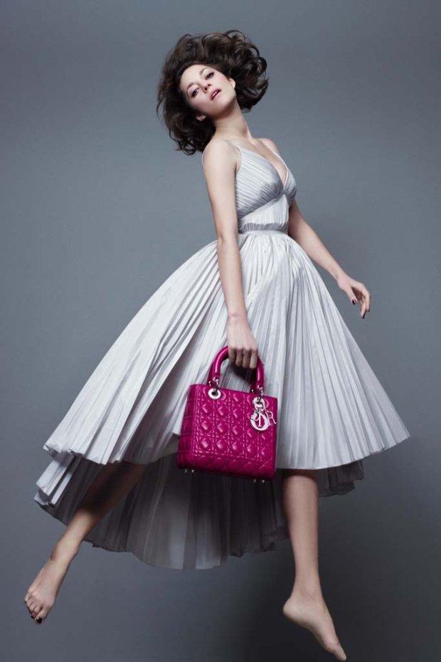 Marion Cotillard w kampanii Lady Dior Pre-Fall 2014