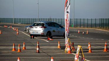 Szkołą bezpiecznej jazdy w Toyocie