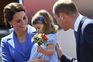 Księżna Kate, księżniczka Charlotte, książę William