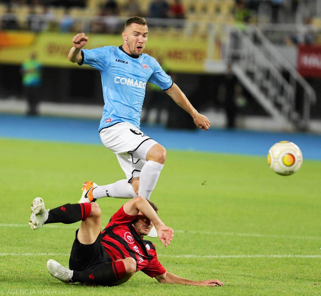 Skopje: mecz KF Skendija Tetovo - Cracovia