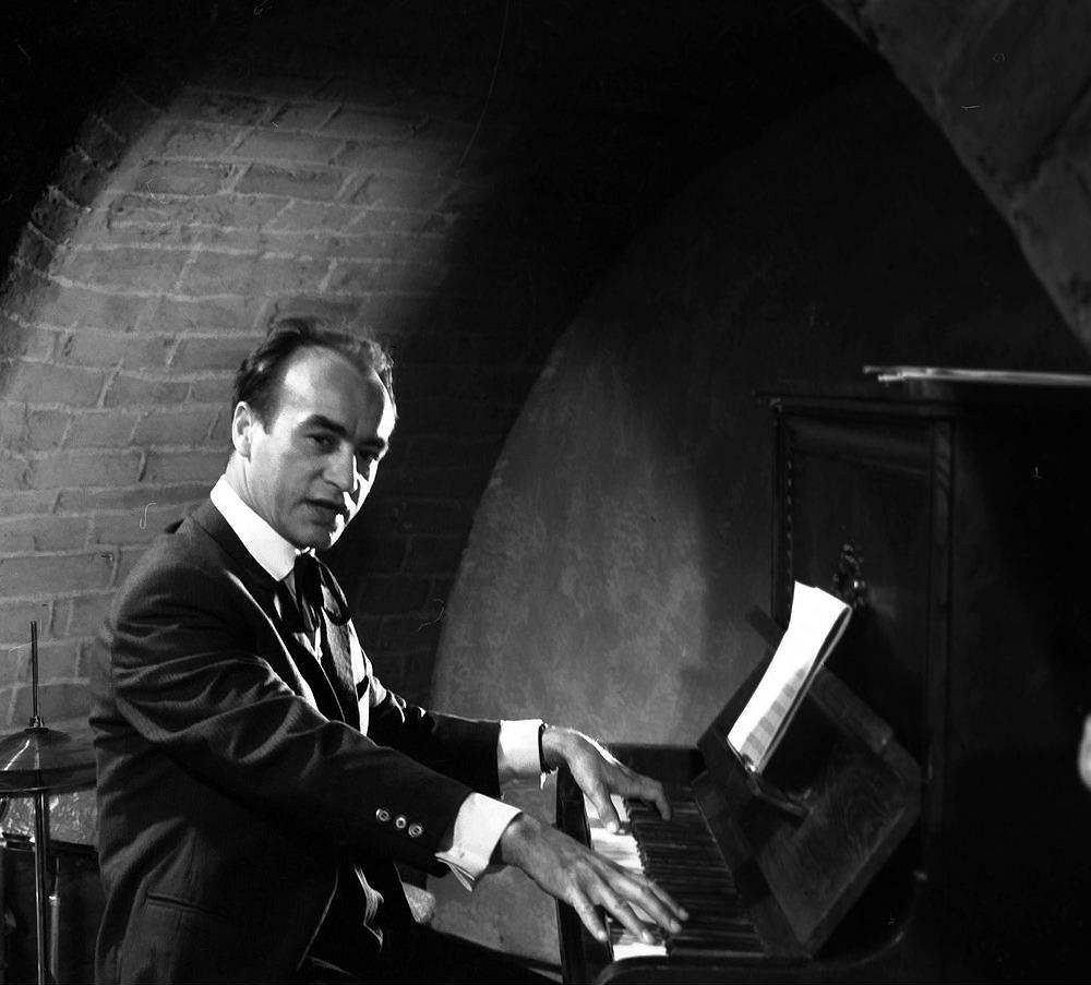 Wiesław Michnikowski w filmie 'Mocne uderzenie', 1966 r.