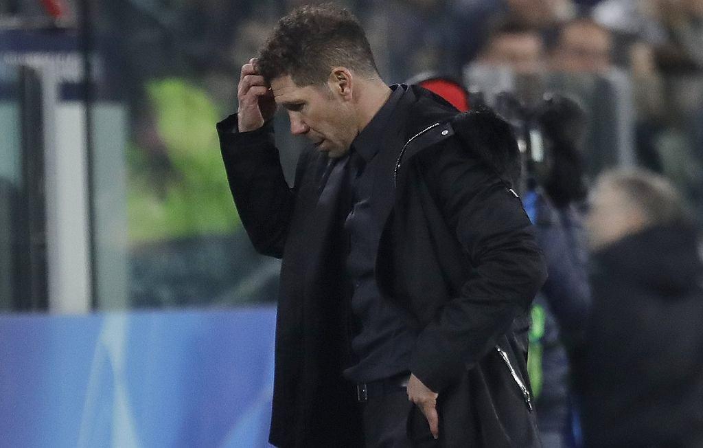 Trener Atletico Madryt Diego Simeone