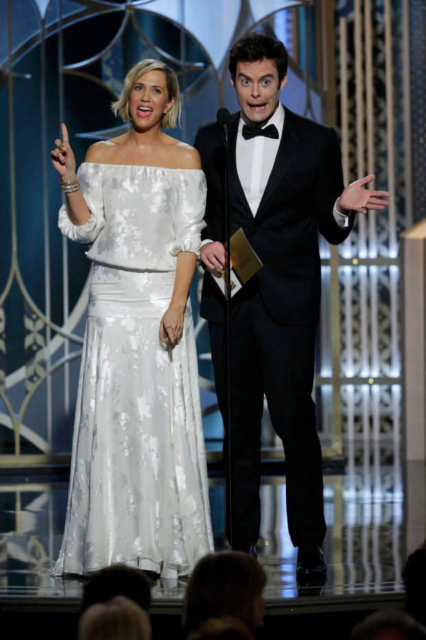 Kristen Wiig i Bill Hader