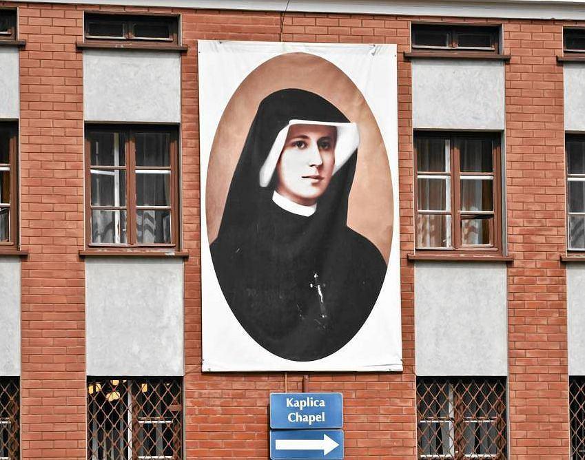 Św. Faustyna - sanktuarium w Łagiewnikach