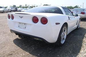 Tajemnicza Corvette