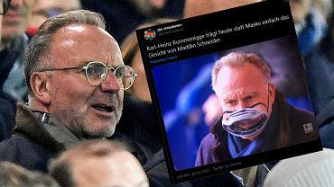 Karl-Heinz Rummenigge maska