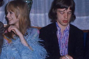 Marianne Faithfull i Mick Jagger