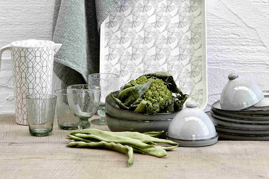 Zielony kieliszek Agine od marki Lene Bjerre
