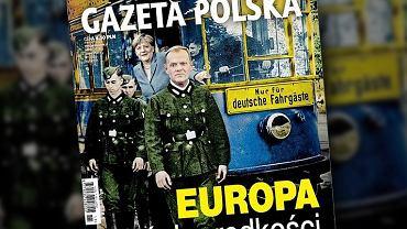Okładka tygodnika 'Gazety Polskiej'