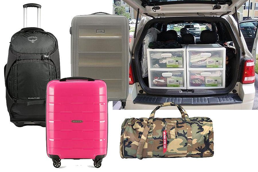 Jak ułożyć rzeczy w bagażniku?