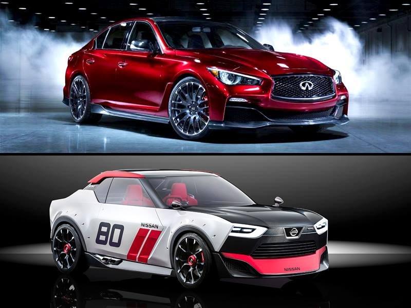 Ininiti Q50 Eau Rouge i Nissan IDx