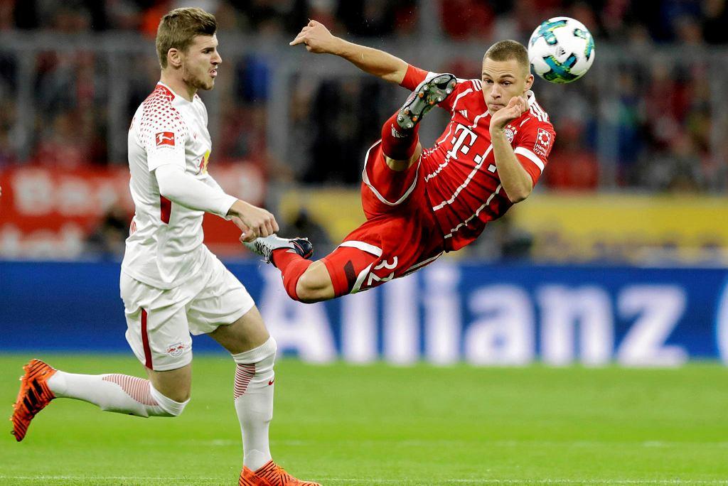 Timo Werner (lipsk) i Joshua Kimmich (Bayern)