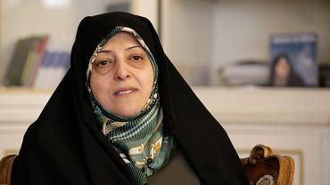 Wiceprezydentka Masumeh Ebtekar zakażona koronawirusem