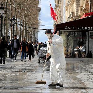 Do soboty we Francji odnotowano 3361 zakażeń koronawirusem