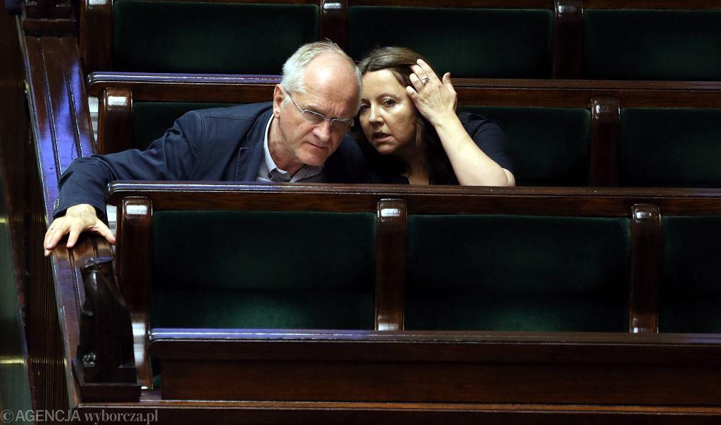 Krzysztof Czabański i Joanna Lichocka z Rady Mediów Narodowych