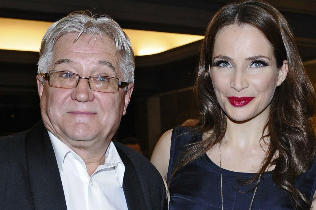 Anna Dereszowska z tatą