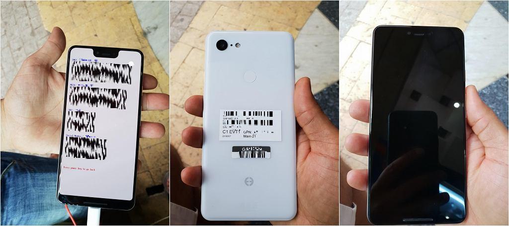 Pixel 3 XL w wersji Clearly White