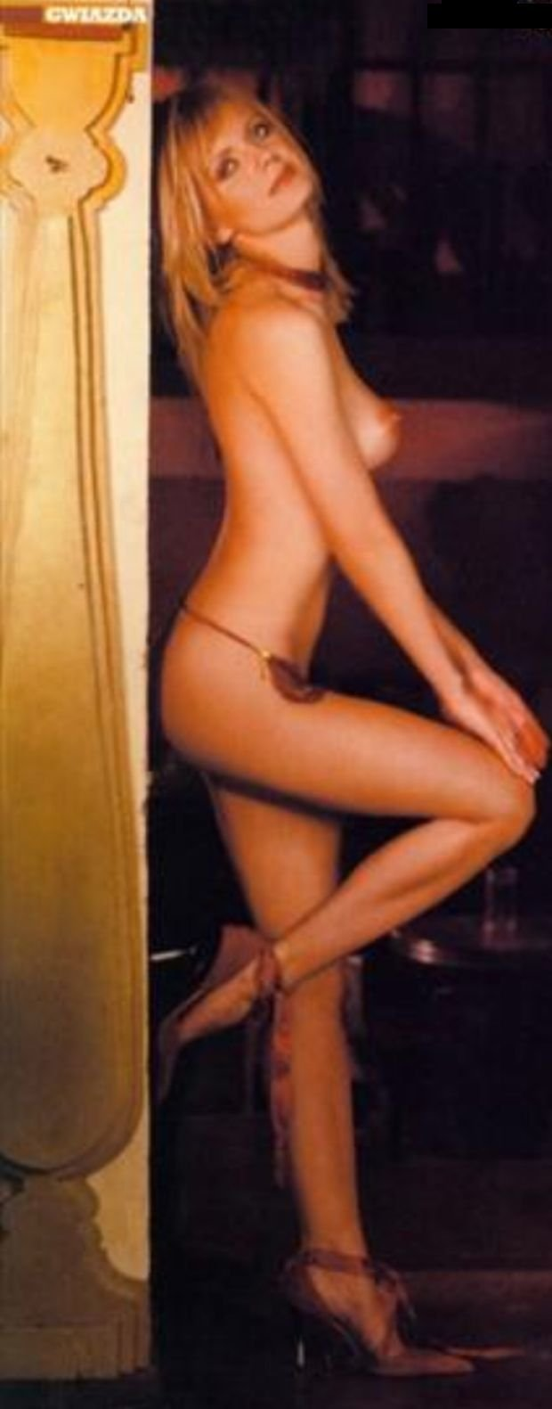 Olga Borys, Playboy, luty 2004.