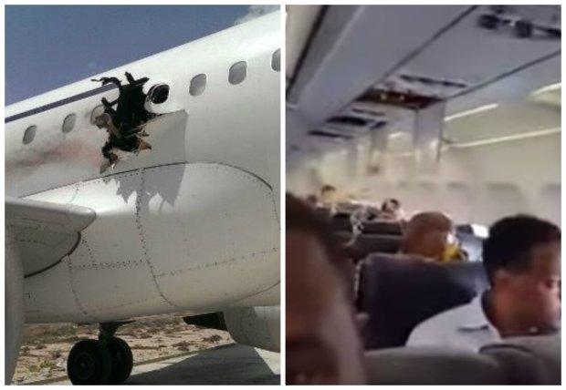 """Zapamiętają ten lot do końca życia. """"Ktoś wypadł, lecieliśmy z dziurą w kadłubie"""" [VIDEO]"""