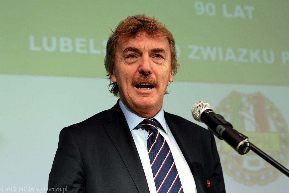 Zbigniew Boniek był gościem obchodów 95-lecia Śląskiego Związku Piłki Nożnej