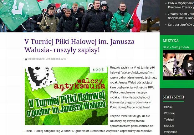 ONR organizuje V Turniej Piłki Halowej im. Janusza Walusia