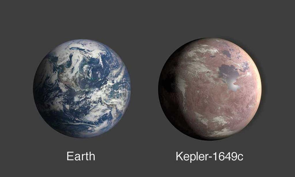 Kepler-1649c jest łudząco podobny do Ziemi