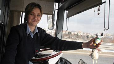 Kierowca lubelskiego autobusu Magdalena Małek